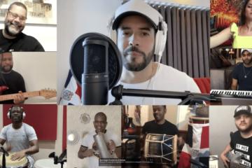 Manny Cruz rinde homenaje a Juan Luis Guerra grabando sus temas en cuarentena