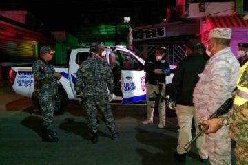 PN y Ejército apresa 92 personas; retiene 38 motocicletas en 24 horas por toque de queda