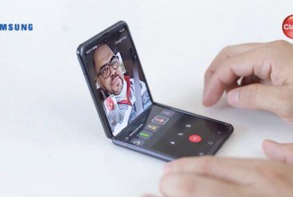 Claro y Samsung presentan nuevo Galaxy Z Flip
