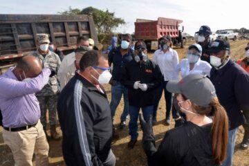 Obras Públicas: Incendio de Duquesa será sofocado totalmente en siete días