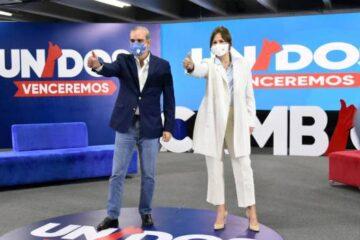 Milagros Germán ofrece apoyo a la candidatura de Luis Abinader