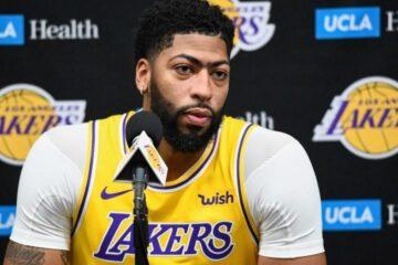 Anthony Davis considera que descanso hace a Lakers más favorito al título