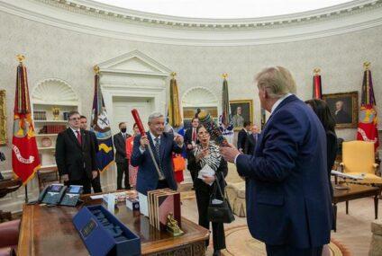 López Obrador: Trump y yo «somos amigos y vamos a seguir siendo amigos»