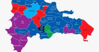 PLD gana senadurías en tres provincias fronterizas, las más pobres