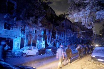 2,750 toneladas de nitrato de amonio causaron explosiones en puerto de Beirut