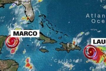 Tormenta tropical Laura azota el este de Puerto Rico y avanza por el Caribe