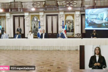 EN VIVO: Presidente Abinader firma de contrato de explotación petrolera -APACHE