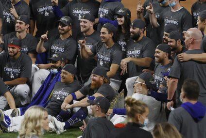 Los Dodgers y los Lakers convierten a Los Ángeles en la capital de los campeones