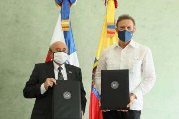 La RD y Ecuador firman un acuerdo para estrechar sus lazos comerciales y económicos